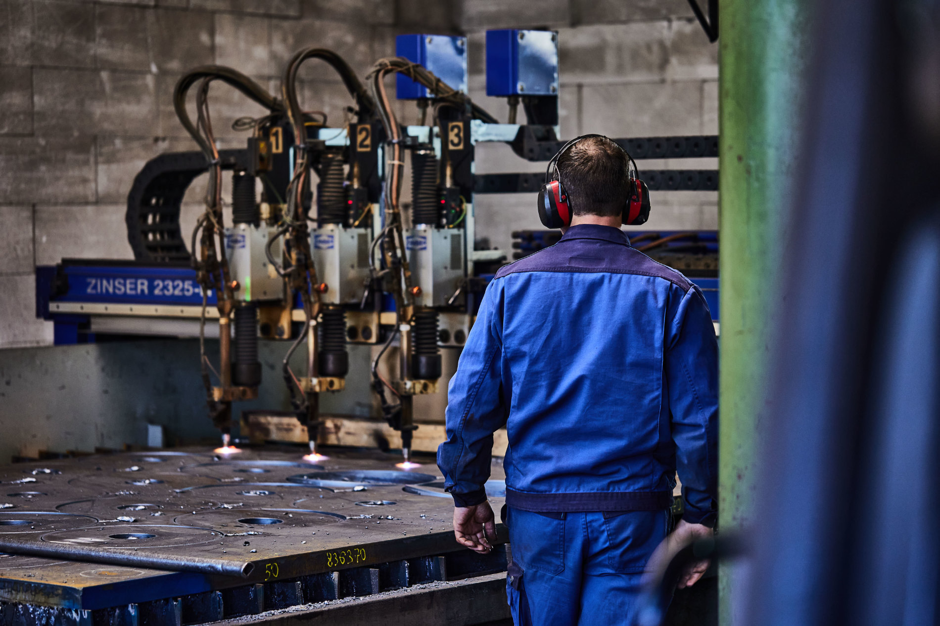 Frick Maschinenbau schneiden