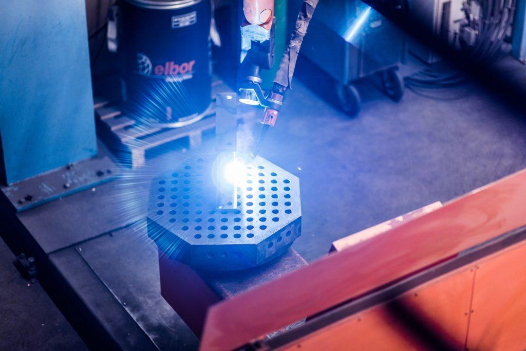 Roboterschweissen Frick Maschinenbau